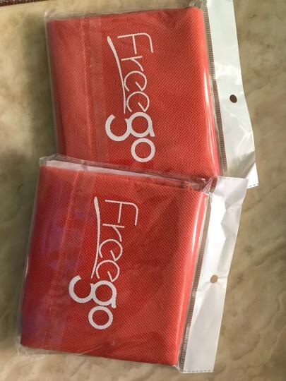 Freego 收纳鞋袋 FGE-003 旅行收纳束口袋 布袋抽绳整理袋 杂物收纳袋 无纺布鞋袋 橘黄色(2件起售) 晒单图