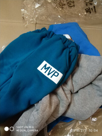 贝尔兰 童装儿童夏季套装2018夏新款男女童中大童两件套 蓝色+黑(上衣裤子面料不同) 110码 晒单图