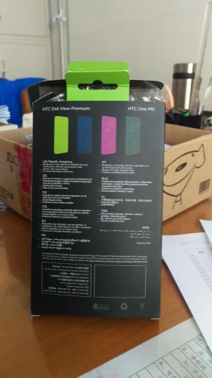 韩菲琪 智能立显手机壳保护套 适用于 HTC ONE M9/m9w/m9+/M9plus htc m9+ 灰色 5.2英寸 晒单图