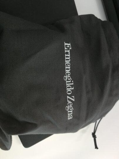 Ermenegildo Zegna 杰尼亚 男士黑色棕色牛皮两面用针扣腰带 ZPJ45 977 NTM 110 晒单图