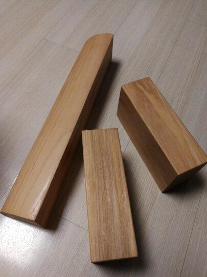 丽形阳光2015新款瑜伽砖实木 定制 瑜珈艾扬格辅助用品实木砖 一块 有轻微瑕疵(修补好处理) 晒单图