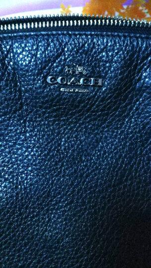 蔻驰 COACH 奢侈品 女士专柜款皮革手提单肩饺子包黑色27号中号 36675 SVBK 晒单图