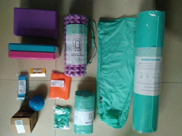 峰燕瑜伽砖高密度环保砖头瑜珈泡沫枕垫子辅助用品舞蹈练功砖 活力橙 晒单图