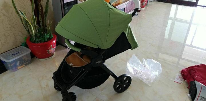 宝得适(BRITAX) 婴儿推车轻便 可折叠 可坐可躺 欢行B-nest 草木绿 晒单图