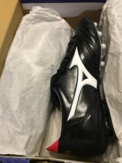 美津浓(MIZUNO)足球鞋袋鼠皮男子专业比赛鞋MORELIA NEO KL AG 黑色 41码=265MM 晒单图