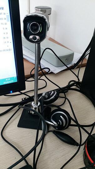 环宇飞扬(UniFly)太空炮M200 高清电脑网络摄像头 黑色 晒单图