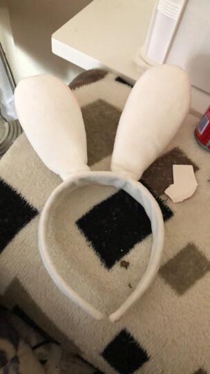 恬馨美饰 王俊凯同款朱迪兔子兔耳朵发箍迪士尼疯狂动物城卡通头饰儿童发饰 灰色兔耳朵 晒单图