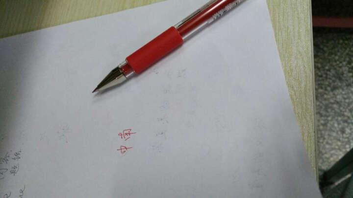 (UNI)三菱UM-151财务专用0.38mm  0.28mm细字中性笔/办公水笔 0.38红色 10支装 晒单图