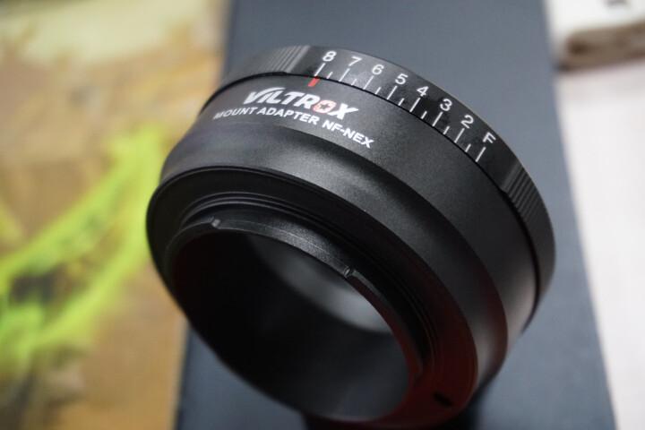 唯卓 VILTROX NF-NEX尼康镜头转接环 AI(G)/AF转索尼NEX微单相机  八级光圈可调 晒单图
