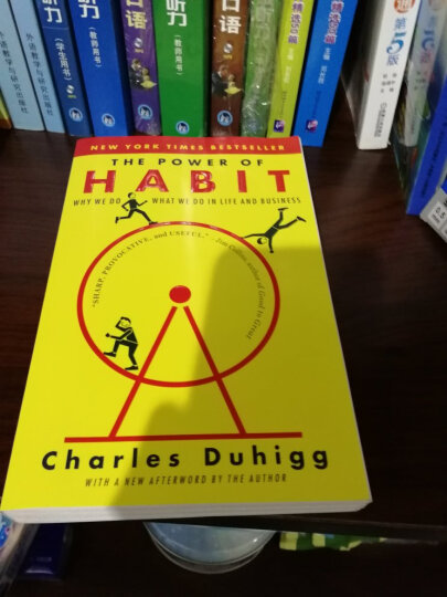 The Power of Habit: Why We Do What We Do in Life and Business习惯的力量 英文原版 晒单图