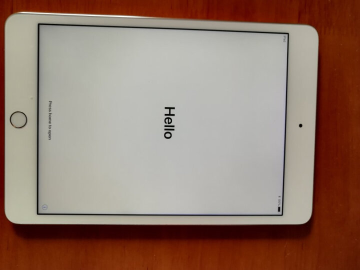 Apple iPad mini 4 平板电脑 7.9英寸(32G WLAN版/A8芯片/Retina显示屏/Touch ID技术 MNY32CH)金色 晒单图