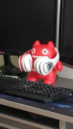 萌奇文化mr.leaf 魔鬼猫无线蓝牙耳机入耳式鬼马咚咚运动音乐耳塞重低音 红色 晒单图