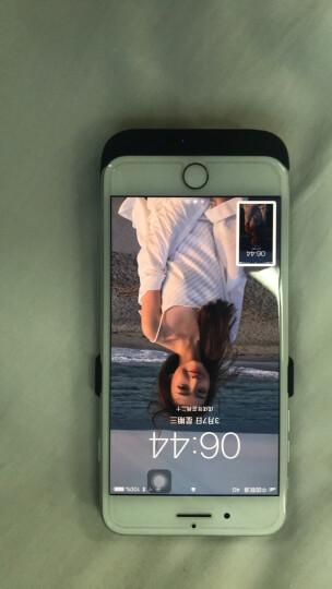 【秒杀中】索致背夹电池苹果充电宝iphone6/6s/7/8plus手机无线移动电源专用壳个性超薄冲 6P/6SP/7P/8P(5.5英寸高贵黑)大容量 晒单图