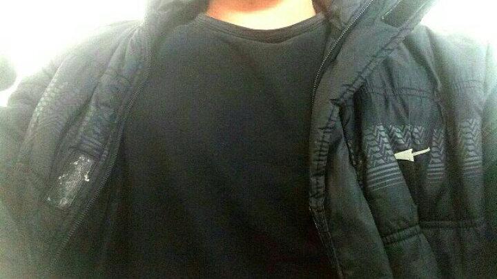 盾郎(donow) 户外短袖T恤短裤套装男2018夏季新款修身印字T恤短裤速干背心短裤 套装 XL(175) 晒单图