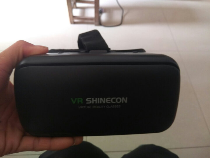 SHINECON 千幻魔镜G04E 虚拟现实智能vr眼镜3D头盔 手机VR一体机9代 vr游戏机 【畅玩版】高清无畸镜片/送蓝牙遥控 +VR礼包 晒单图