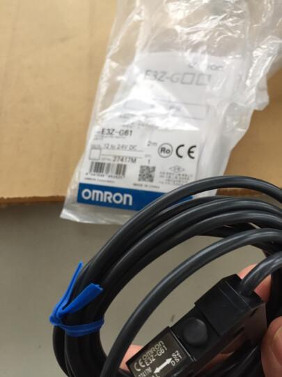 欧姆龙OMRON 凹槽型光电开关 传感器E3Z-G61 12-24VDC 检测25mm NPN 晒单图
