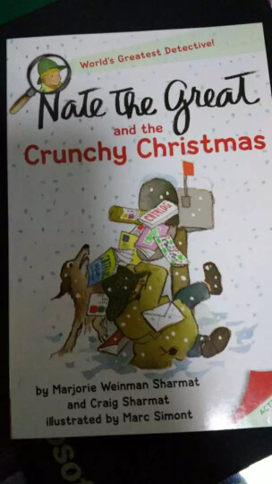 Nate the Great and the Crunchy Christmas[了不起的小侦探内特系列] 晒单图