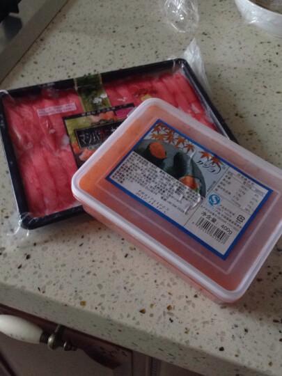 御鲜轩 泰国进口速冻松叶蟹柳 270g 30条 托盘 火锅海鲜年货 晒单图