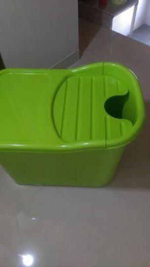 洗澡桶成人浴盆泡澡桶塑料沐浴桶浴缸 粉色 晒单图