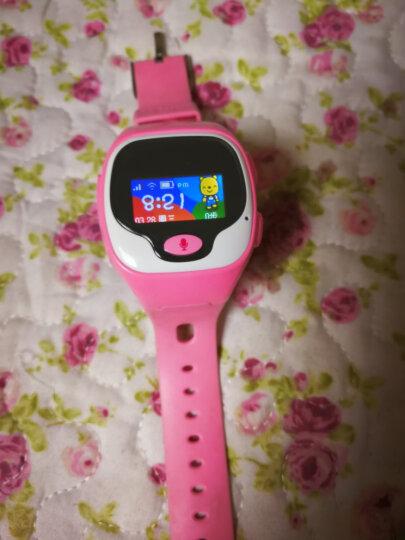 优彼(ubbie)电话手表 语音拨号英文翻译智能百科问答儿童手表 学生360度安全 优彼智能手表 +充电小车蓝色 晒单图