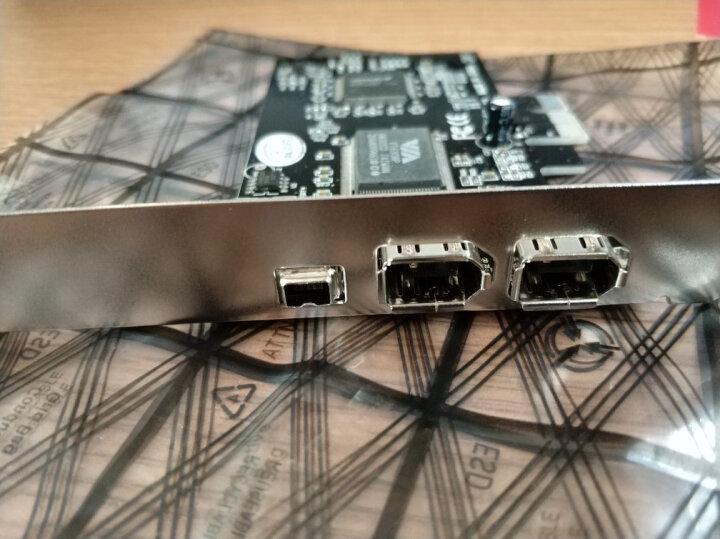 szllwl 1394采集卡 双电源PCI-E转1394A视频DV采集卡摄像机800火线卡插槽采集卡 晒单图