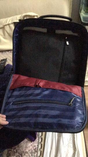 博牌Bopai男士双肩包 商务背包15.6吋电脑包 韩版可拓展帆布书包防盗usb充电 黑色751-006551 晒单图