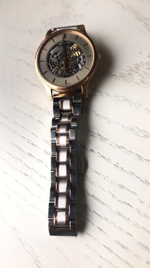 代豪度汉密尔顿康斯登罗马菲拉格慕优立时荣汉斯绮年华诺美纳手表配件钢表带男精钢手表链女不锈钢 全玫瑰金色弧口 接口宽度 20mm 晒单图