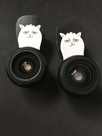猎奇(LIEQI)F-505 手机镜头 广角鱼眼微距三合一套装 苹果iphone华为自拍单反外置摄像头 玫瑰金 晒单图