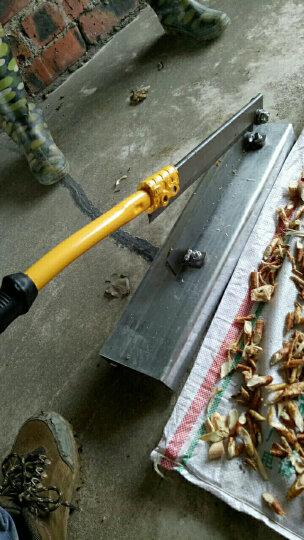 铡刀家用型中药材切片刀年糕机牛轧糖牛羊肉切片机排骨粉条 锰钢平口250钢座 晒单图