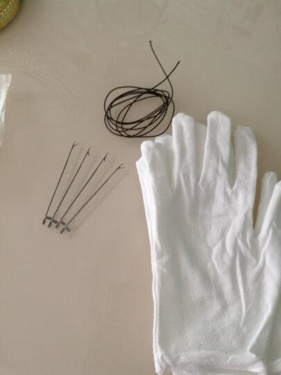 diy穿珠工具 穿珠针 串珠佛珠三通专用针穿手链手串钩针 白色 晒单图
