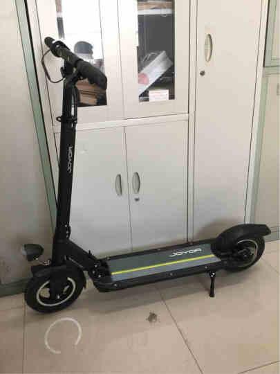 九悦X5炫酷黑36V18AH/55-60KM/10寸轮胎/宽踏板/镁合金/超长续航/电动滑板车/折叠自行车/电动车 晒单图