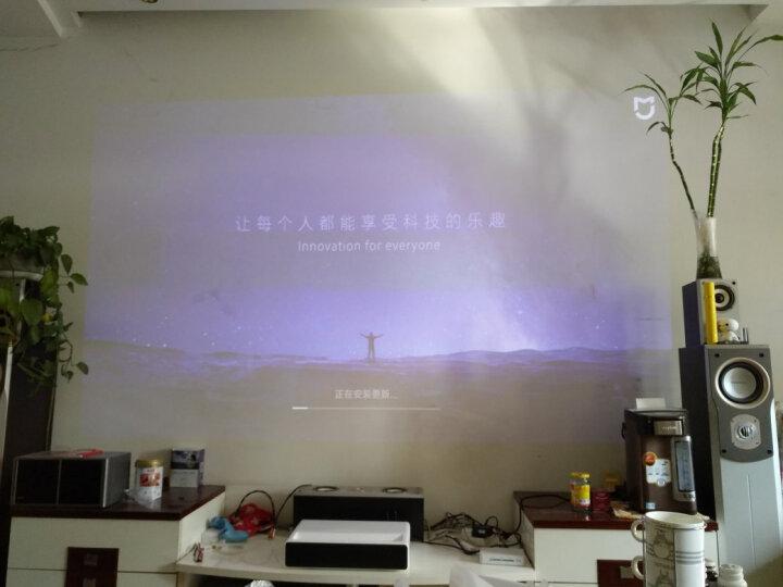 米家(MIJIA)小米激光电视 投影仪家用 (1080P全高清 超短焦 小孩防直视 杜比音效 激光影院 ALPD3.0技术) 晒单图