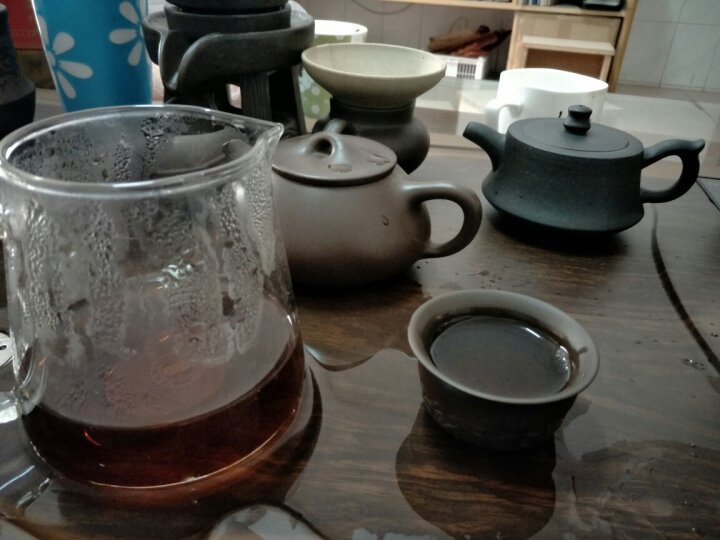 茶香庄小青柑木桶茶陈皮普洱茶熟茶特产柑普茶橘子陈年桔普茶叶250g 晒单图