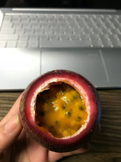【东坡馆】百香果1500g装 单果约50-80g 新鲜水果 晒单图