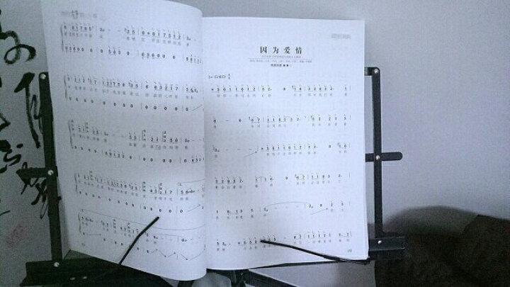 易演奏流行古筝曲128首古筝谱初学者教程 教材 简易版古筝曲集 古筝曲谱书 晒单图
