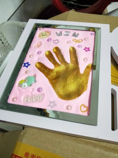未来精英宝宝纪念品 小饰品 手脚印饰品 小马随机一个 晒单图
