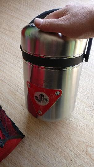 美厨(maxcook)304不锈钢保温提锅饭盒 1.9L真空保温防溢 带保温袋颜色随机MCTG-053 晒单图