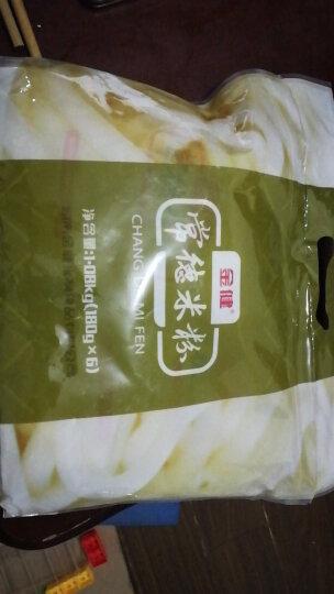 金健常德米粉湖南特产半干米粉米线汤粉方便装1080g内含6包 晒单图