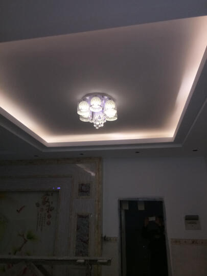TCL 照明灯带led灯条高亮贴片暗槽灯软彩色灯过道灯装饰灯氛围灯插头 2835灯带 1米/暖白光 晒单图