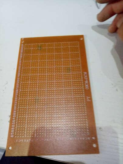 TaoTimeClub 电木板 9*15CM 2.54MM 洞洞板  线路板 厚1.2MM 晒单图