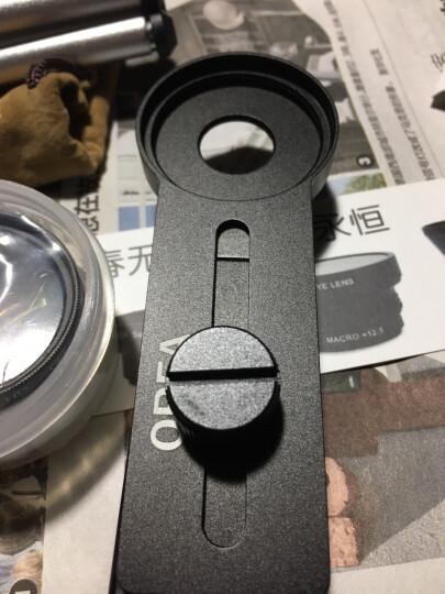 OREA 手机镜头套装37mm大口径广角微距镜头适合华为苹果华为努比亚OPPO VIVO一加手机 单个自拍夹 晒单图
