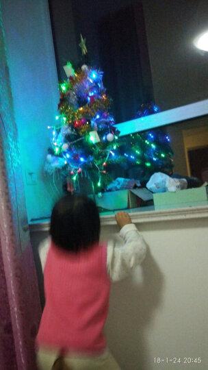 欧锐 圣诞树0.9米套装 52件圣诞装饰品豪华礼包 含9米LED彩灯 晒单图