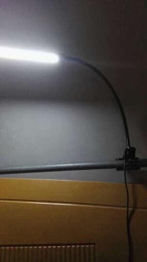 简意灯具 LED台灯夹子灯 夹灯 护眼学习 卧室床头灯工作办公台灯 可调光调色usb 黑壳((调光-调色)) 送 适配器 晒单图