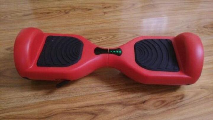 骑客(CHIC) 骑客Smart系列智能双轮平衡车体感车漂移车代步车扭扭车思维车儿童礼品 C1宝石红(基础款) 晒单图