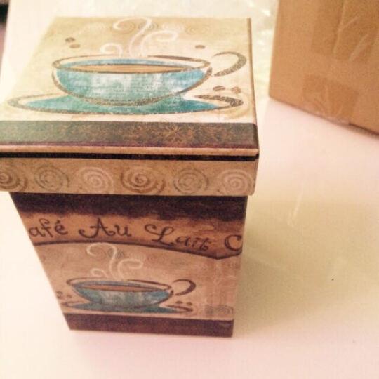 爱屋格林 手绘陶瓷马克杯 情侣艺术咖啡杯 带盖杯子 水杯 500ML 礼盒荷语 装夏日 3LTM021L 晒单图