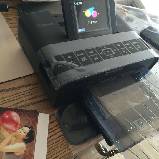 佳能(Canon) CP1200手机无线照片打印机家用 热升华便携相片小型手机照片打印机 粉色套餐2 晒单图