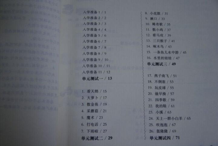 华东师大版一课一练:一年级语文(第一学期) 晒单图