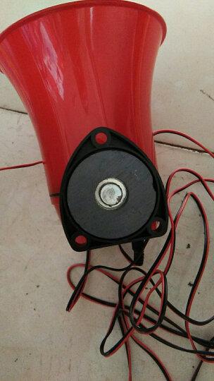 创麦酷 鸣乐12-60V车载大功率喊话器150s录音宣传喇叭可插U盘 标配+12伏电瓶夹 晒单图