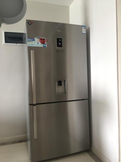 欧洲英国倍科(BEKO) CN160220IDX 541升 双门冰箱 大宽门冰箱 原装进口 不锈钢色 不锈钢 CN160220IDX原装进口新款变频 晒单图