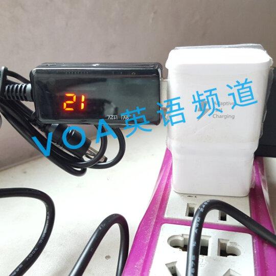 ARCCRA 升压线USB模块移动电源充电宝宿舍5V升压9V或12V应急供电无线路由器猫 DC JACK接口5.5*2.1音叉通用2.5 充电宝移动电源5V升压9V 晒单图